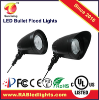 new style lighting for led outdoor & landscape led mini bullet flood light