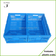600*400*255mm Plastic Collapsing Folding Crate Plastic Storage Folding Foldable Plastic Boxe