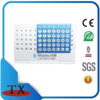 wholesale cheap metal desk perpetual calendar holder in china