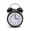 top selling new products 2017wall alarm digital Fashion Mute Metal Alarm Clock with Night Light, Size: 12*8.5cm Flip Clock