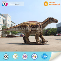 Adult life size popular robotic dinosaur video of dinosaur model