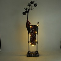 led lighted reindeer for christmas, high quality metal gifts for decor