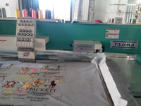 retread tajima 12 head embroidery machine used