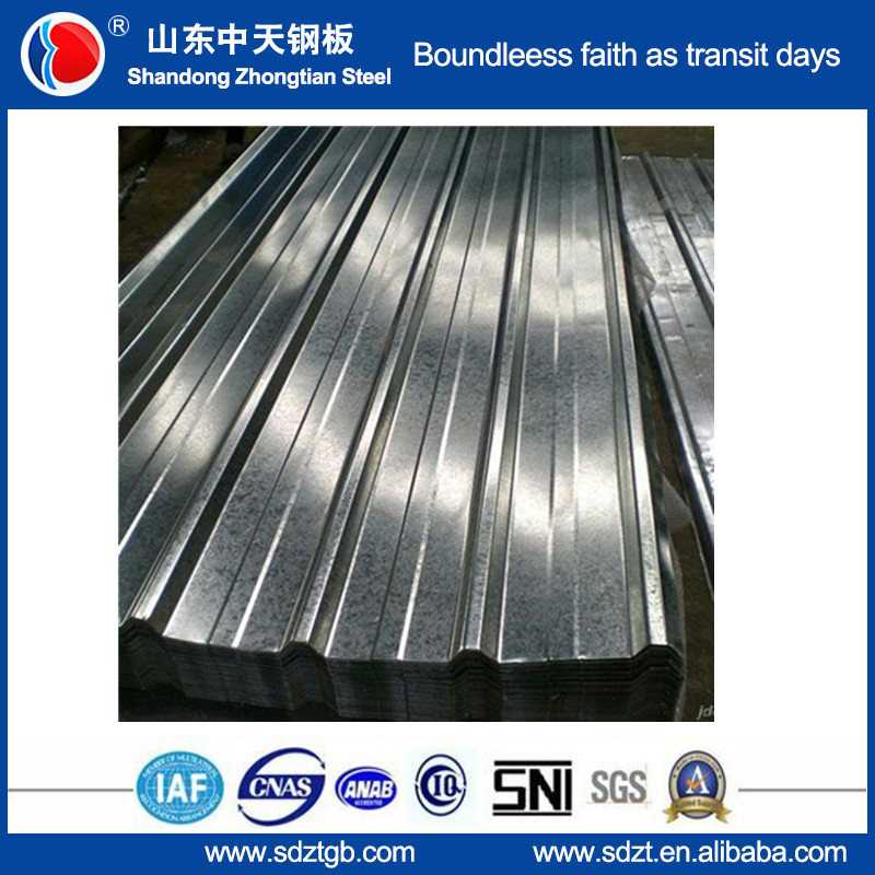 galvalume metal roofing price from Zhongtian steel