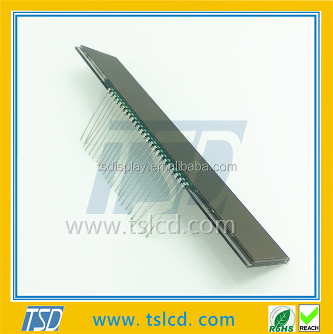 LCD panel 24 metal pin lcd screen customized