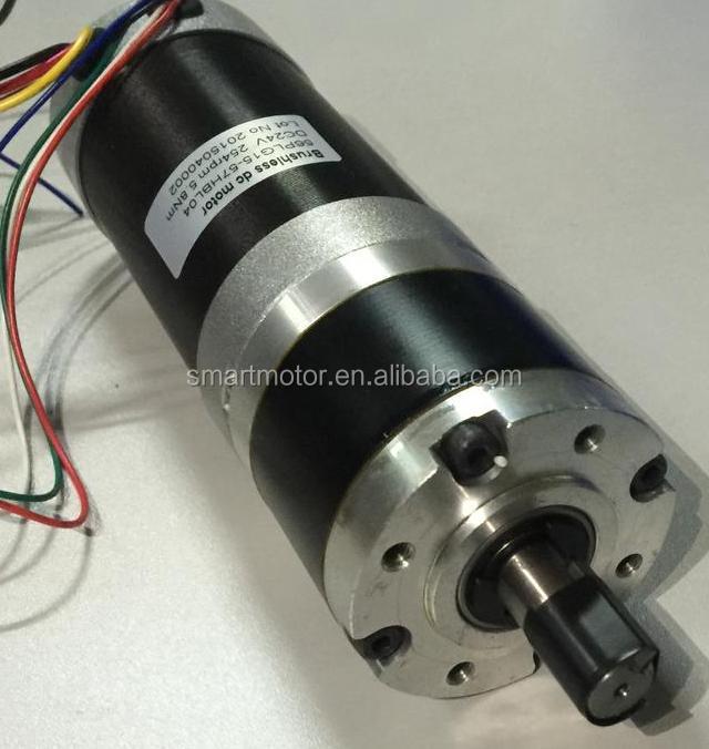 57mm 12v 24v 36v brushless dc planetary gear motor for 24v brushless dc motor