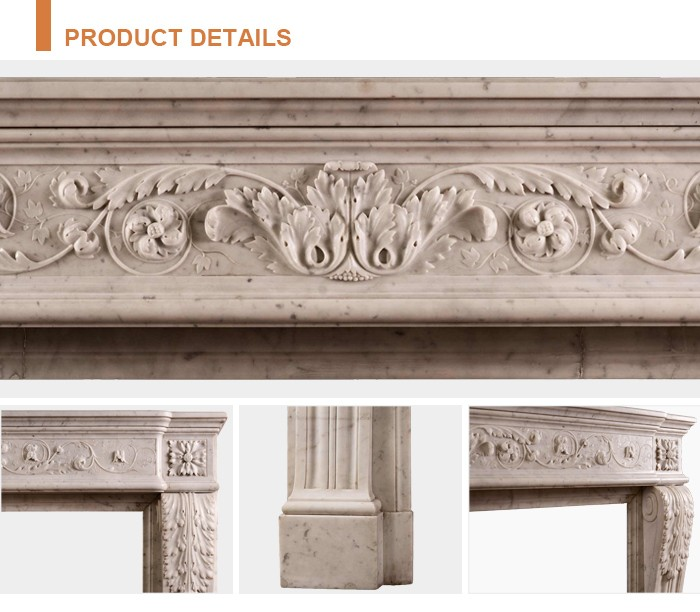Home decoration in stock on sale cultured marble fireplace surround