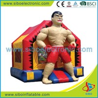 High Tenacity Pvc Material Inflatable Castle