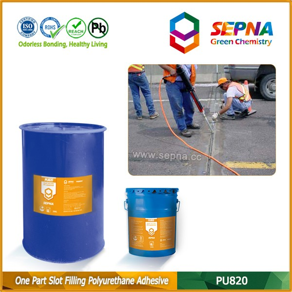 PU820 Fast curing high quality China supplier concrete joints Polyurethane sealant