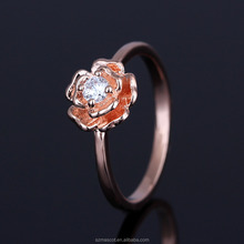 Lots Sterling Silver Big Rose Ring
