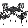 Cast Aluminium Patio Furniture Chairs And