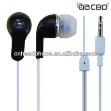 3.5mm plug earphone for mp3/ mp4/mobile phones with cheap price