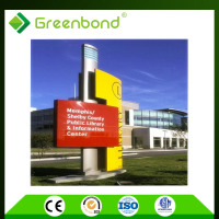 Greenbond aluminum cladding wall cladding acp sheet work acp sheet