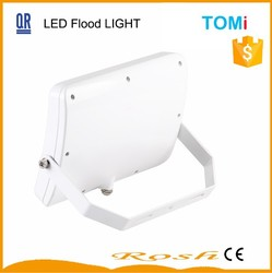 shanghai supplier 70w led flood light with ce, 50W, 110lm/w, CRI>80, thin wavy white shell advertising lamp