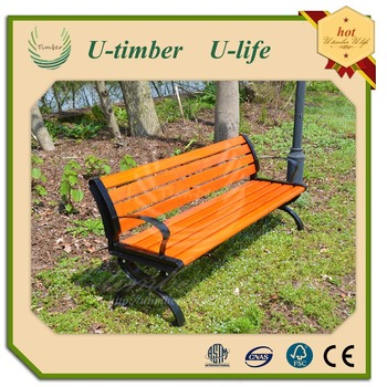 portable folding bench wood plastic composte wpc bench,waterproof