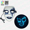 Frightening EL wire Halloween cosplay Led masks light Up mask for festival