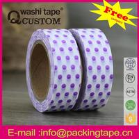 Qcustom japanese style washi paper tape diy scrapbooking with great prices