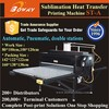 Pneumatic Automatic 2 Stations Sublimation heat transfer t shirt printer