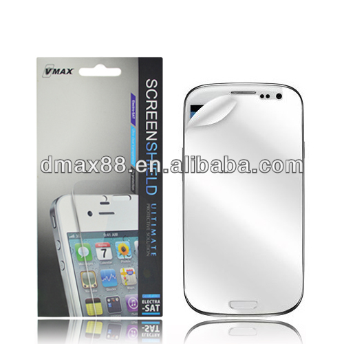 Best Price For Samsung galaxy s3 mini mirror screen protector oem/odm (Mirror)