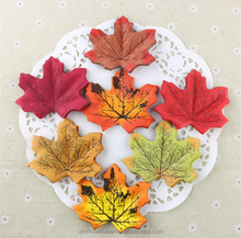 cheap wholesale artificial silk autumn maple leaves