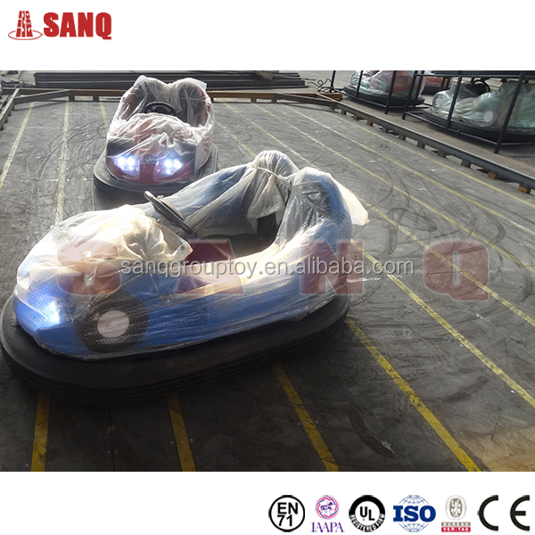 Amusement park electric groundgrid bumper cars for kids