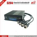 very small vehicle camera 12v car dvr system software download mdvr wiith GPS WIFI 4G sim card, dvr security system,S204