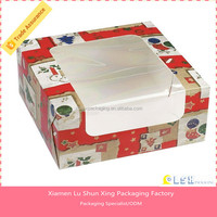 Bespoke moon cake box ,cute paper cake box,small cake boxes