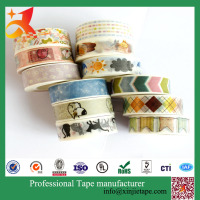 XJ-TAPE packaging and decoration gift tape colorful DIY tape china supplier