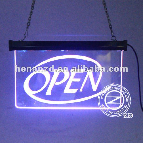 LED Display Neon Desktop Advertising Coffe Sign Bar Sign