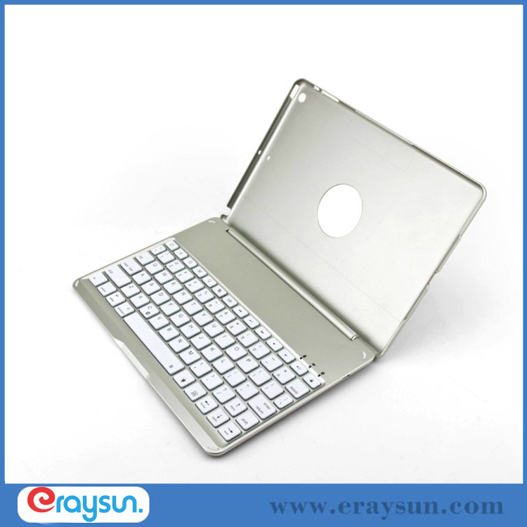 Aluminum Wireless Bluetooth Plastic Keyboard Ultrathin Case For Apple iPad Air