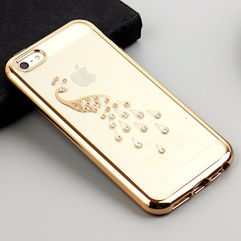 oem rhinestone mobile phone case cover