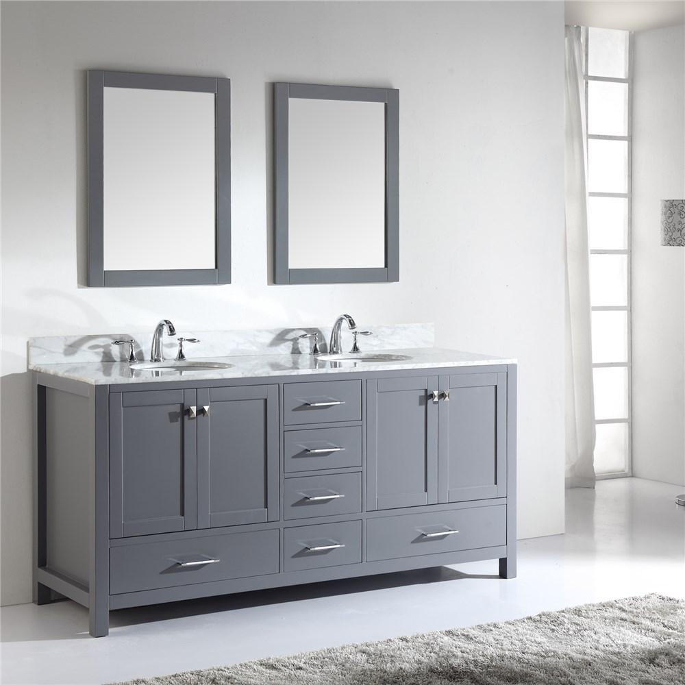 List Manufacturers Of Double Bathroom Vanity Grey Oak Buy Double