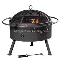 Steel Outdoor BBQ Fire Pit