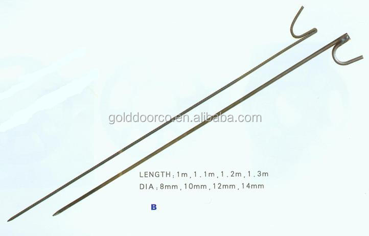 Wire Mesh Fencing Pins with Hook For Fence Supporting hook brooch pins jumper wire pin
