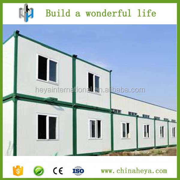 Cheap economic prefabricated container green house with low price