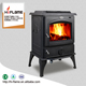 HiFlame warehouse in America Cast iron wood stove multi fuel wood burning stoves HF717U