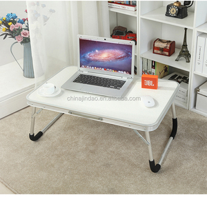 portable aluminum folding laptop bed study table