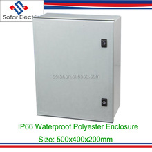 IP65 Outdoor Waterproof FRP GRP SMC Fiberglass Polyester Cabinet