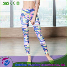 Latest Design High Elastic Yoga Tight Woman Jogging Workout Pants