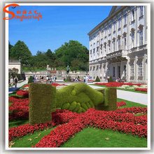 Latest design Customized style artificial grass landscaping for garden