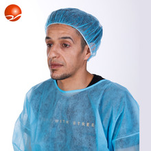 Disposable surgical/hospital nonwoven mob/clip/bouffant cap