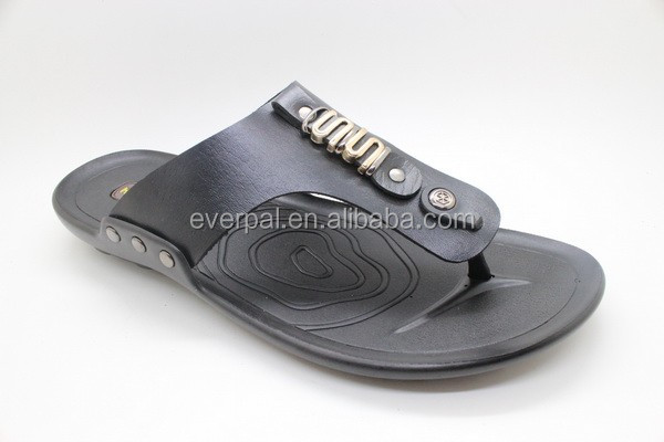 Black Male Gender Flip Flop Sandals