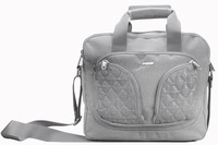 Polyester Briefcase, Laptop Bag Silver, 8018A140002