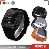 x01 waterproof gps android bluetooth smart watch phone_C1279