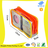 Good Quality Clear PVC Packaging Bag With Zipper