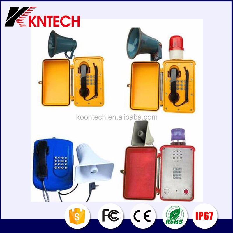 Heavy Duty Telephone Weatherproof Telephone Knsp 13