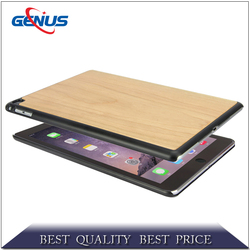 New Products Case Wood Bamboo Cover case for iPad Air 2 With Stand Design Made in China
