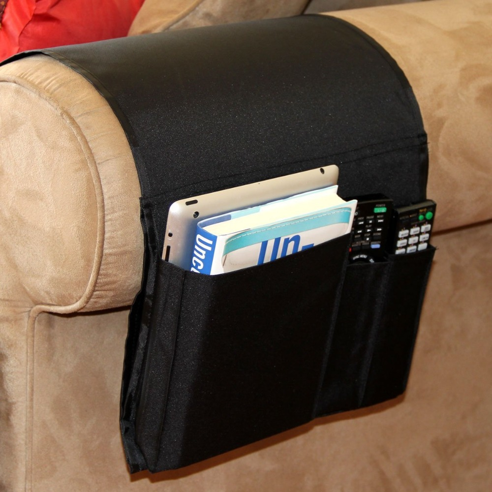 Sofa Organizer High Quality 6 Pockets Sofa Storage Bag Arm