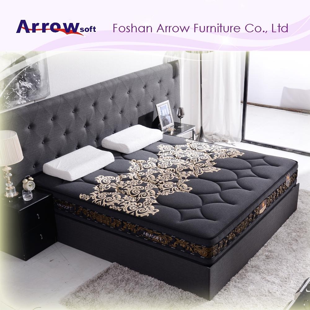 Luxury Bedroom Furniture Memory Foam Mattress Bed Buy