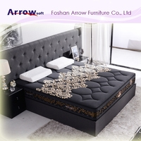 Luxury Bedroom Furniture Memory Foam Mattress Bed